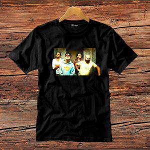 t-shirt nera uomo film una notte da leoni