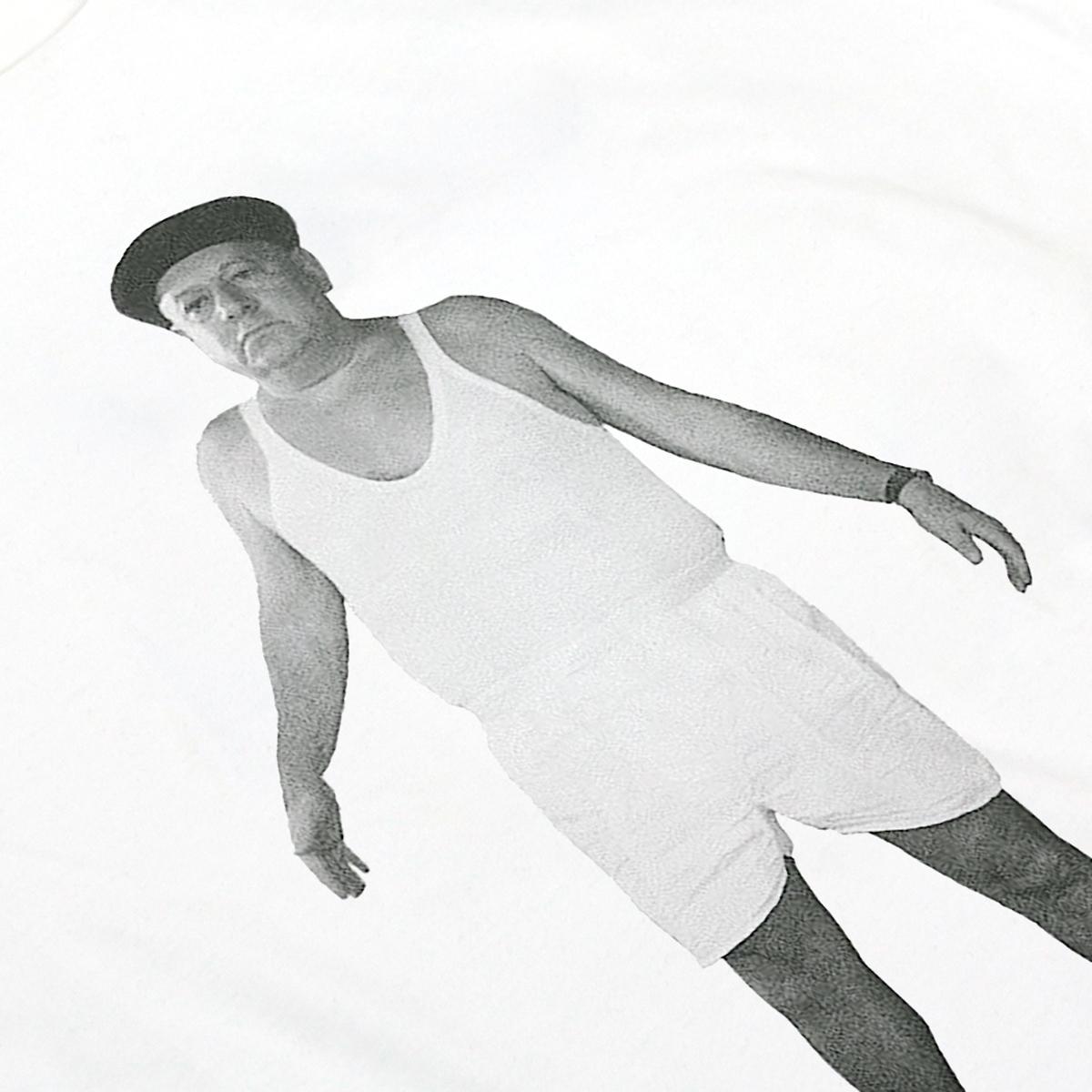 t-shirt bianca uomo fantozzi