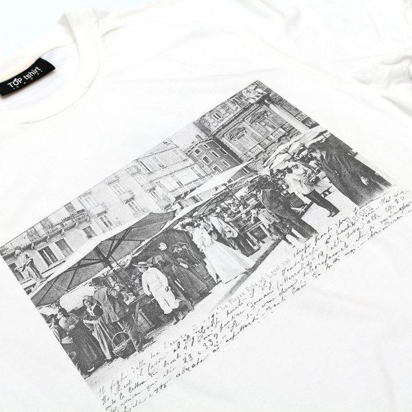 t-shirt bianca uomo piazza erbe verona